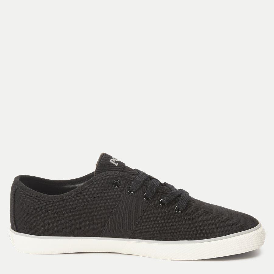 816690652 HALFORD - Halford Canvas Sneaker - Sko - SORT - 2