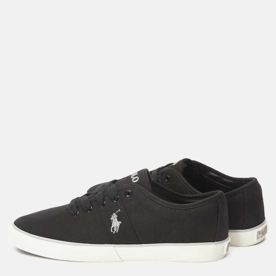 816690652 HALFORD - Halford Canvas Sneaker - Sko - SORT - 3