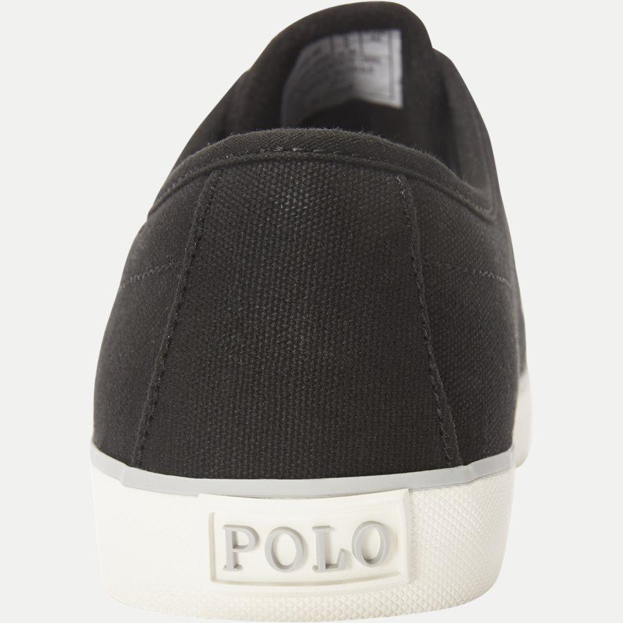 816690652 HALFORD - Halford Canvas Sneaker - Sko - SORT - 7