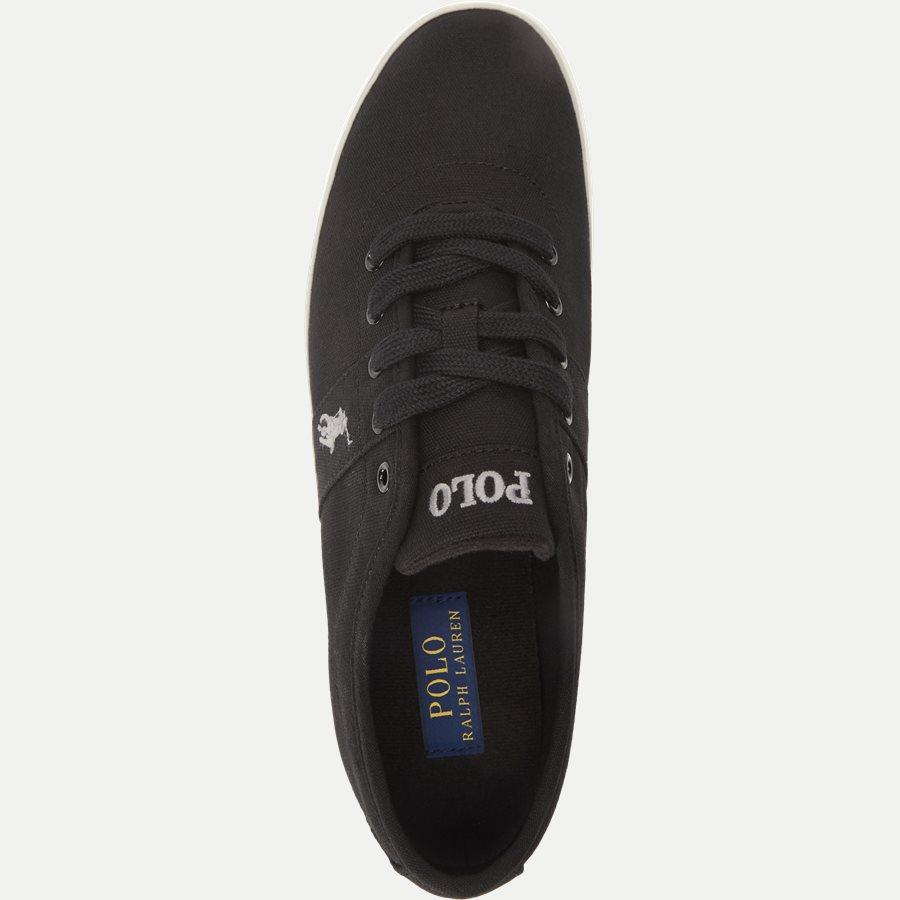 816690652 HALFORD - Halford Canvas Sneaker - Sko - SORT - 8
