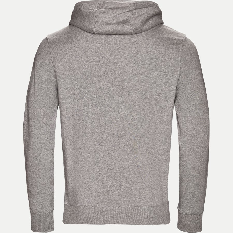 TOMMY CHEST LOGO HOODY - Chest Logo Hoody - Sweatshirts - Regular - GRÅ - 2
