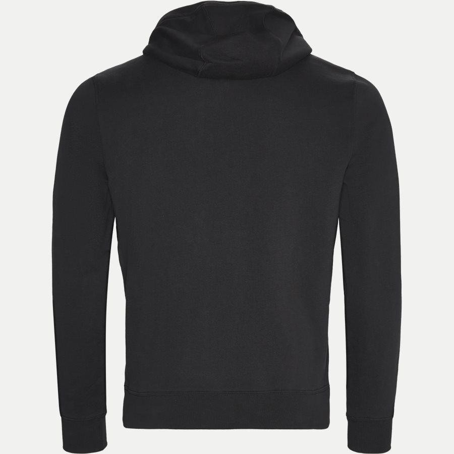 TOMMY CHEST LOGO HOODY - Chest Logo Hoody - Sweatshirts - Regular - SORT - 2
