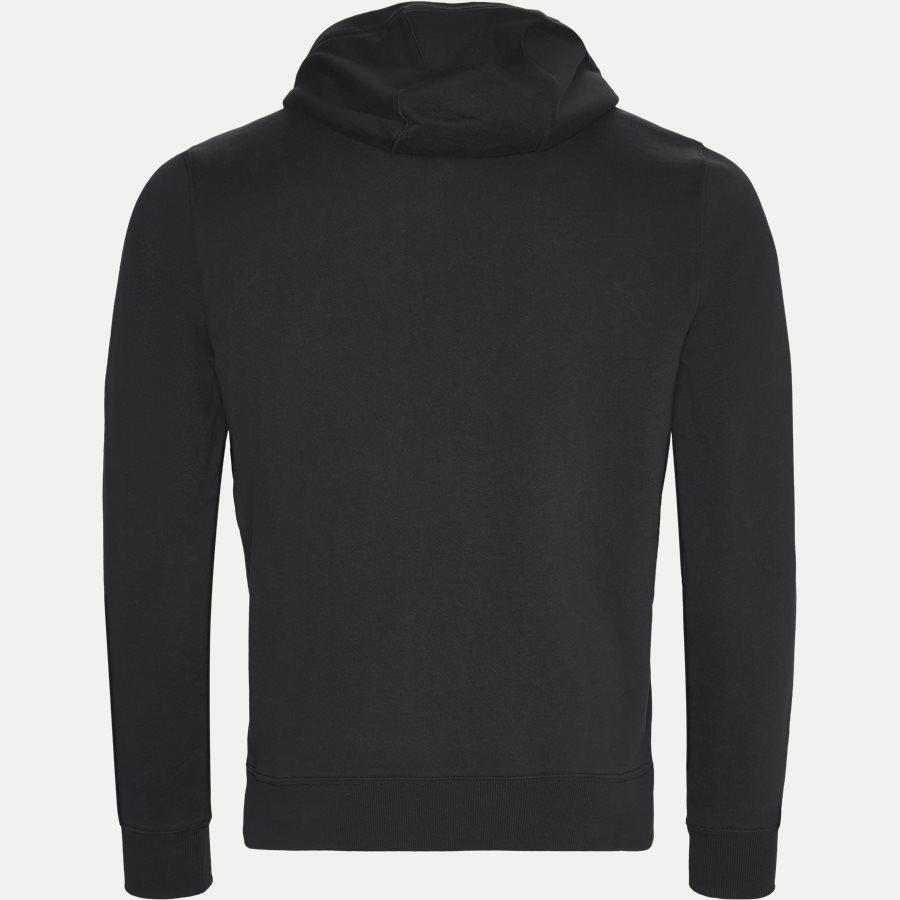 TOMMY CHEST LOGO HOODY - Chest Logo Hoody - Sweatshirts - Regular - SORT - 2