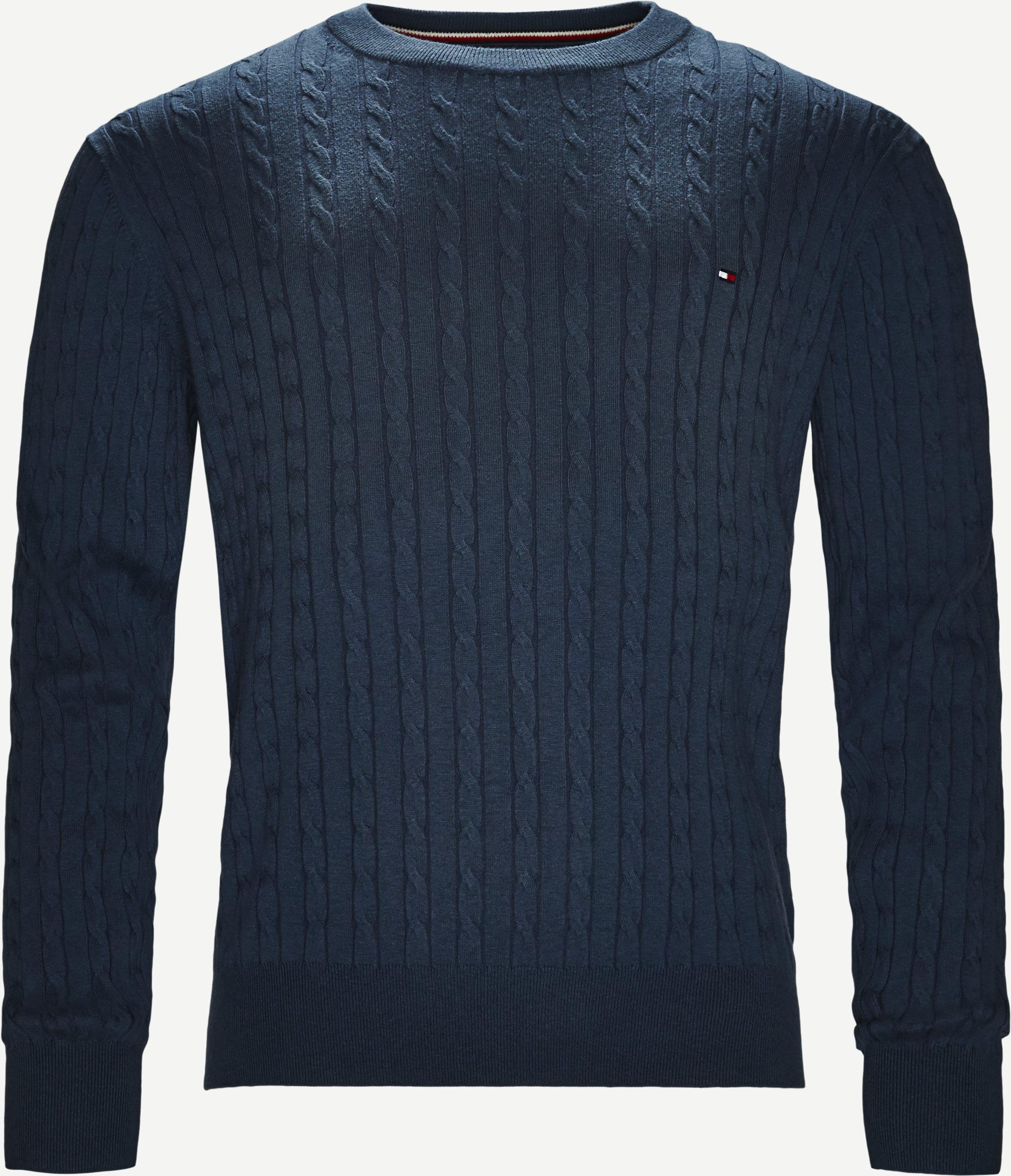Strickwaren - Regular fit - Jeans-Blau