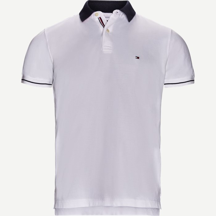 1985 Pique Polo T-shirt - T-shirts - Regular - Hvid