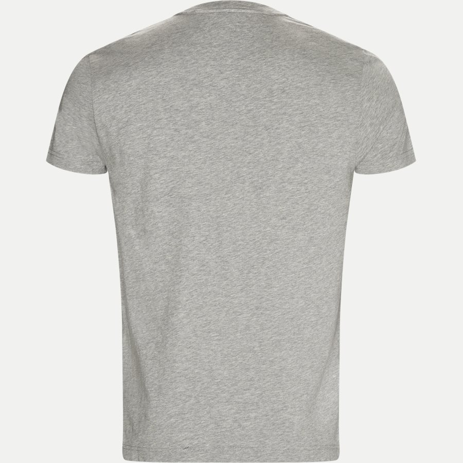 STRIPED LOGO GRAPHIC TEE - Striped Logo Tee - T-shirts - Regular - GRÅ - 2