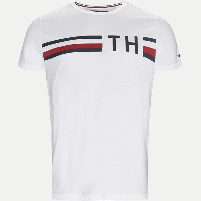 Striped Logo Tee