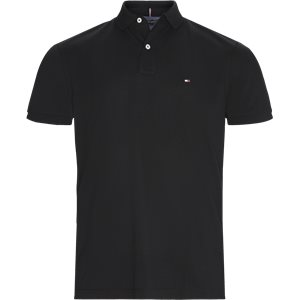 Pique Polo T-shirt Regular | Pique Polo T-shirt | Sort