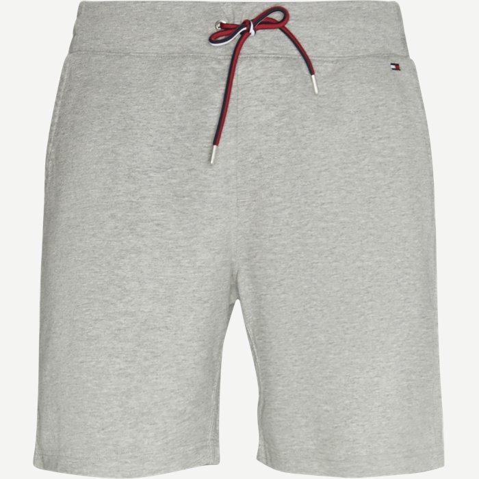 Basic Sweat Shorts - Shorts - Regular - Grå