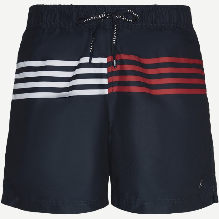 Drawstring Badeshorts - Shorts - Blå