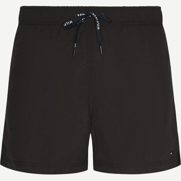 Drawstring Badeshorts - Shorts - Regular - Sort