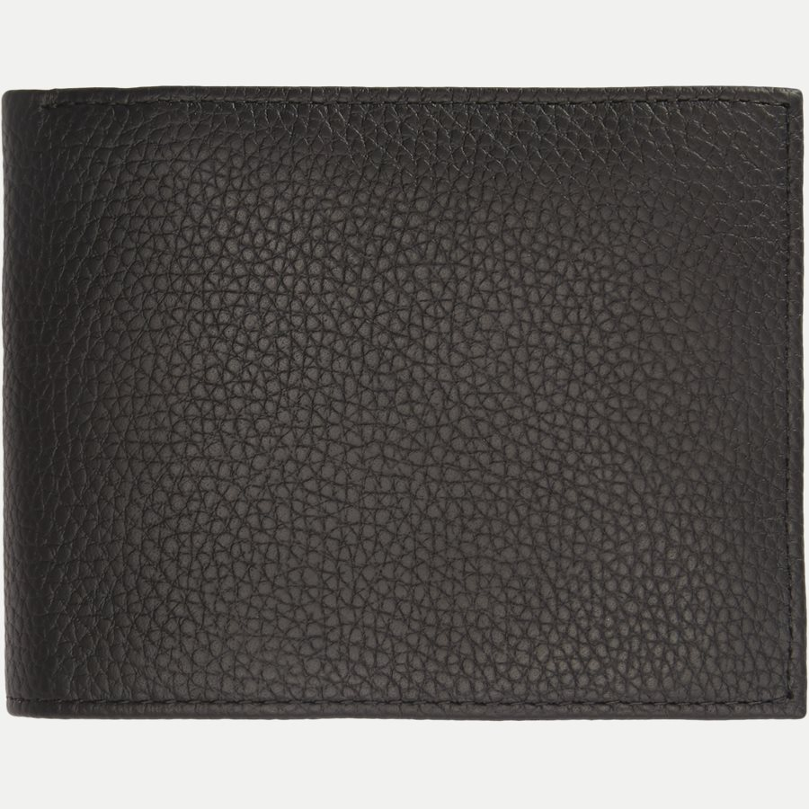 SOFT LEATHER CC FLAP & COIN - Leather Flap Pung - Accessories - SORT - 2