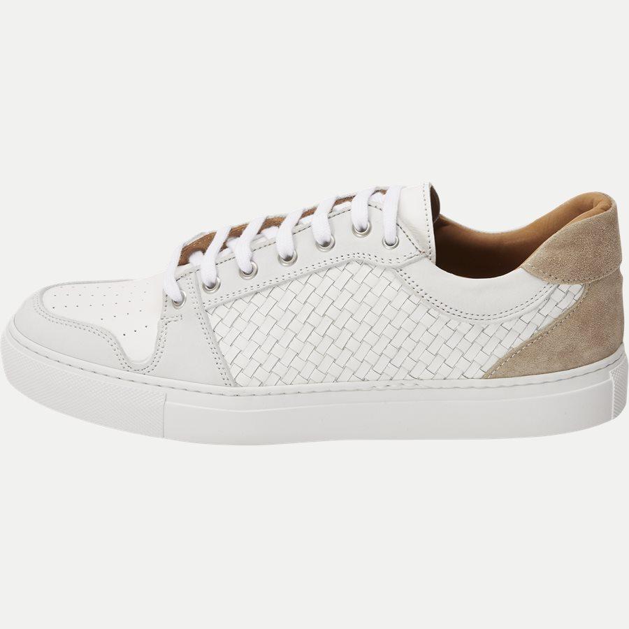 F297 - Skind Sneaker - Sko - HVID - 1