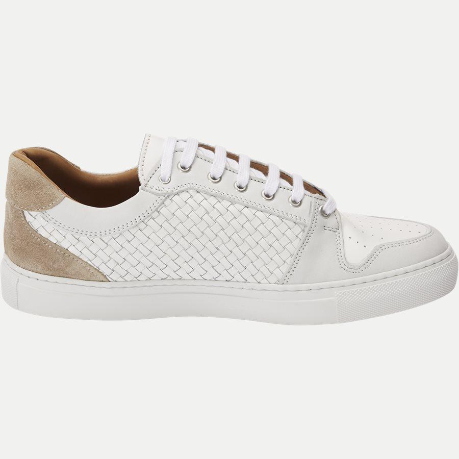 F297 - Skind Sneaker - Sko - HVID - 2