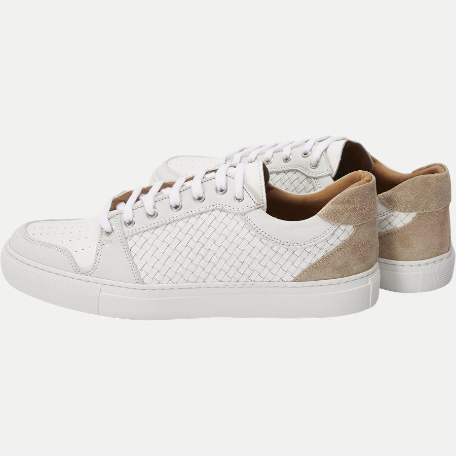F297 - Skind Sneaker - Sko - HVID - 3