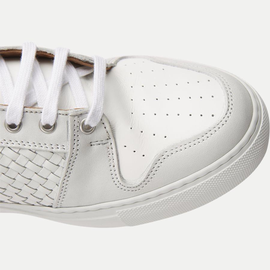 F297 - Skind Sneaker - Sko - HVID - 4