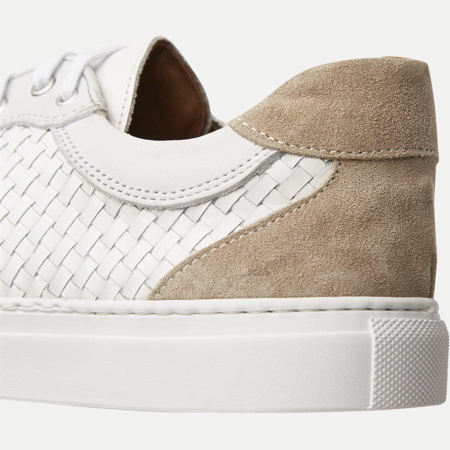 F297 - Skind Sneaker - Sko - HVID - 5