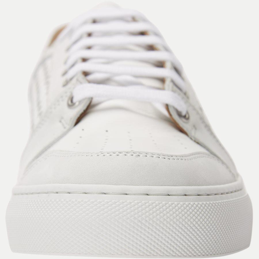F297 - Skind Sneaker - Sko - HVID - 6