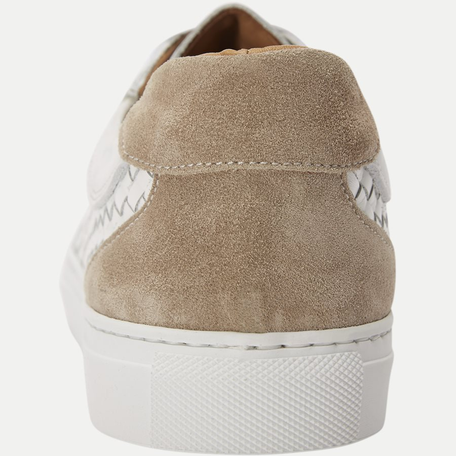 F297 - Skind Sneaker - Sko - HVID - 7