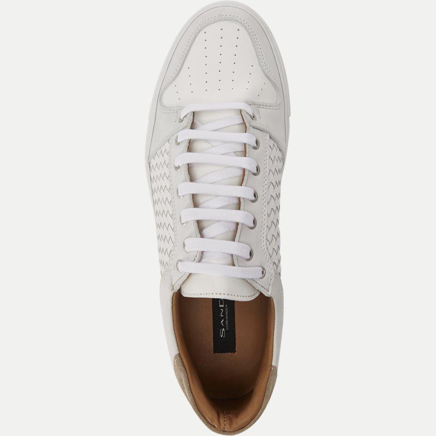 F297 - Skind Sneaker - Sko - HVID - 8