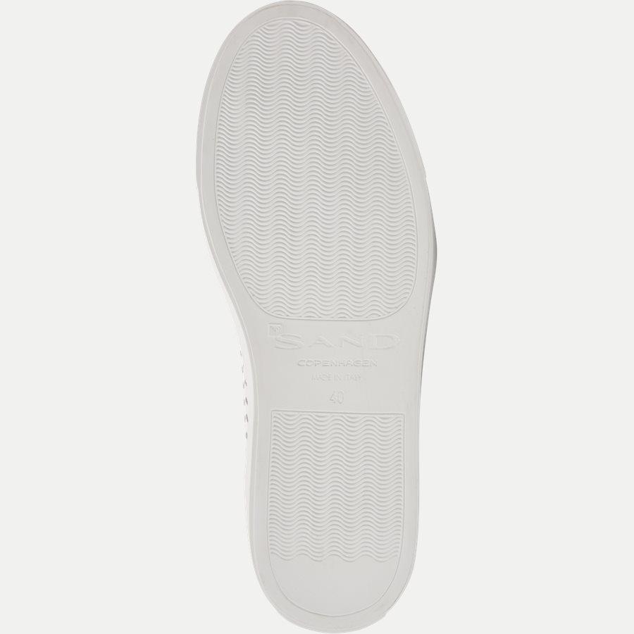 F297 - Skind Sneaker - Sko - HVID - 9
