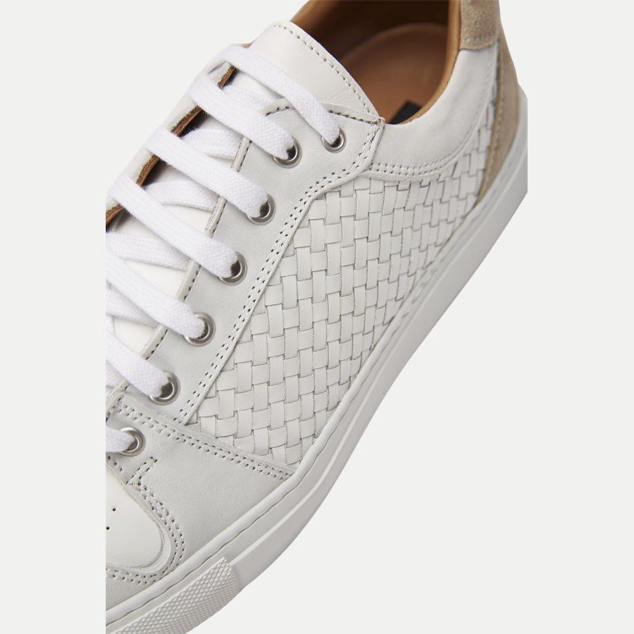 F297 - Skind Sneaker - Sko - HVID - 10