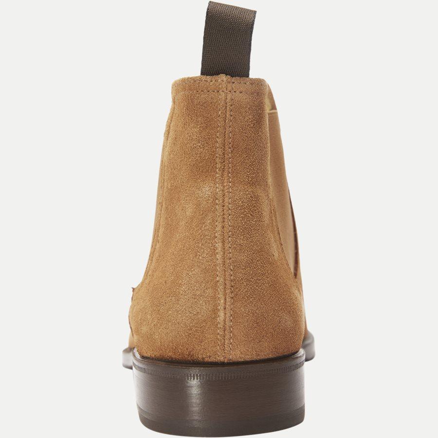 F296. - Chelsea Ruskinds Boot - Sko - BRUN - 7
