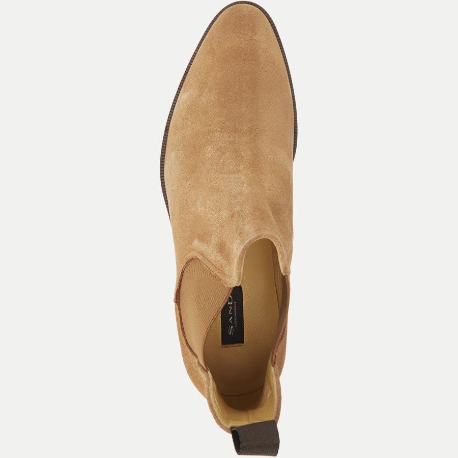 F296. - Chelsea Ruskinds Boot - Sko - BRUN - 8
