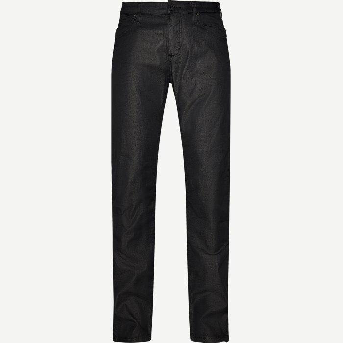 Jeans - Jeans - Slim - Sort