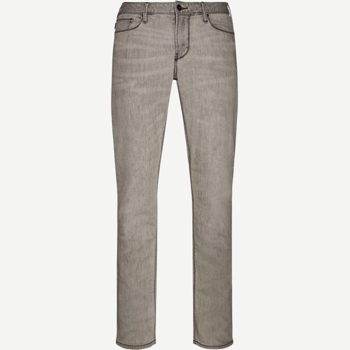 Jeans - Jeans - Regular - Grå