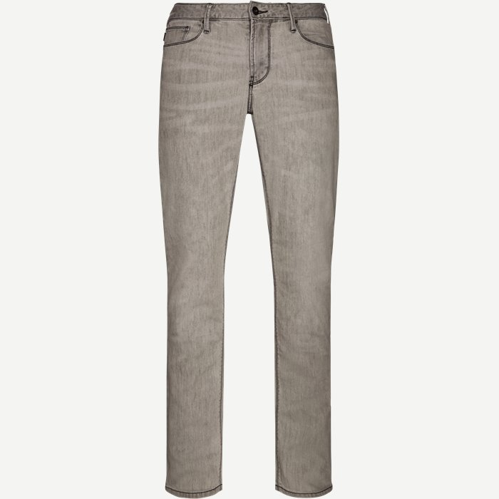 Jeans - Regular - Grau