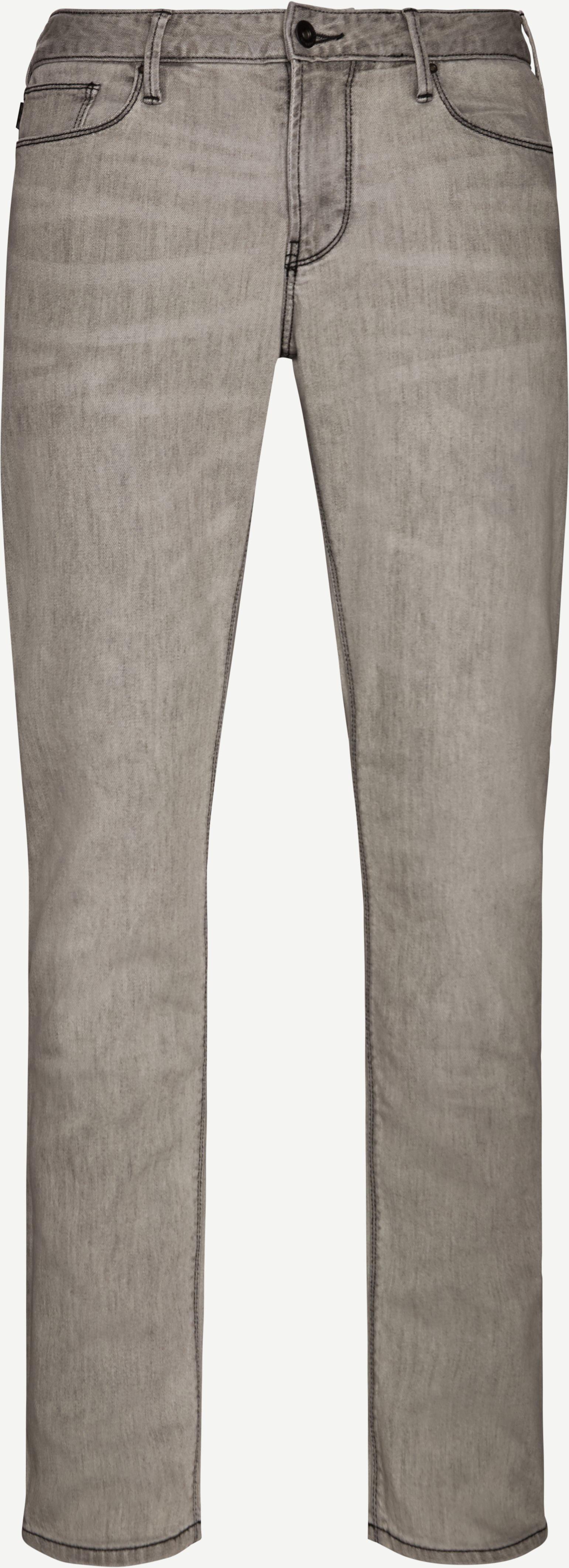 Jeans - Regular - Grey