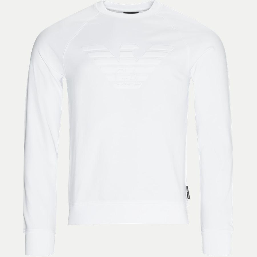 3Z1M68-1J04Z - Logo Embossed Sweatshirt - Sweatshirts - Regular - HVID - 1
