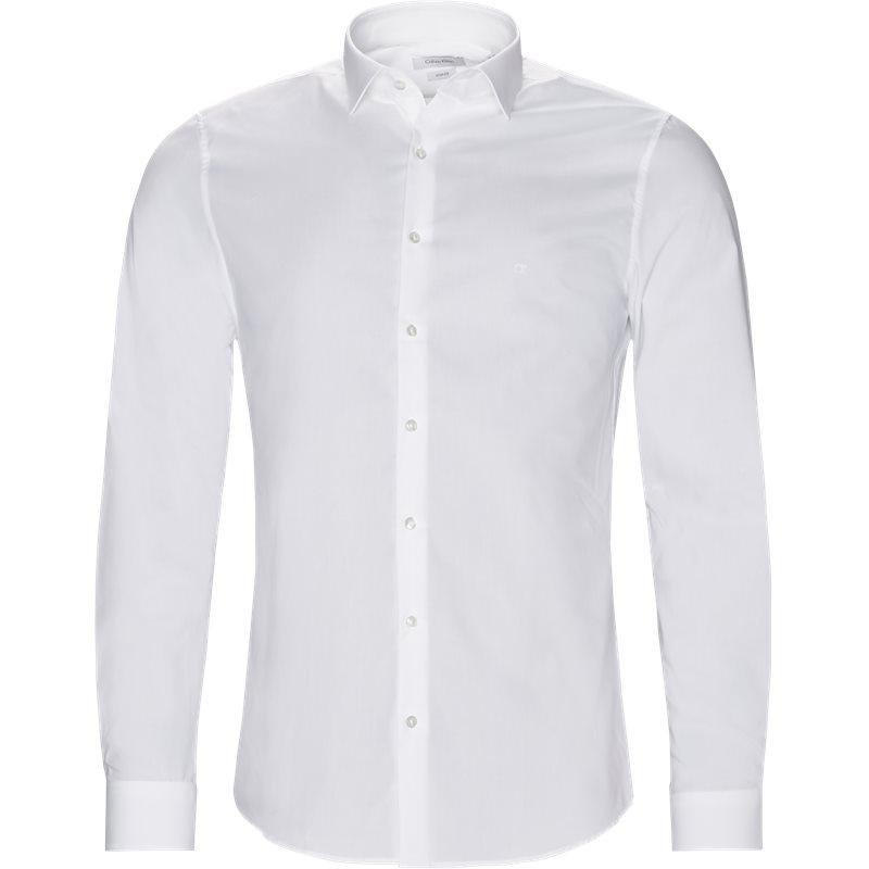Calvin klein skjorte hvid fra calvin klein på axel.dk