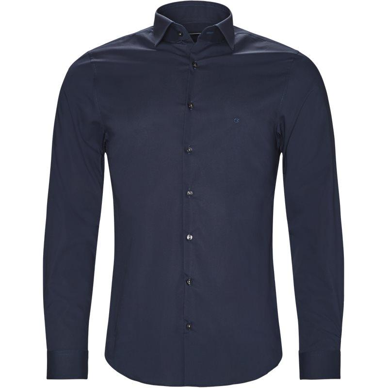 Calvin klein skjorte navy fra calvin klein fra axel.dk