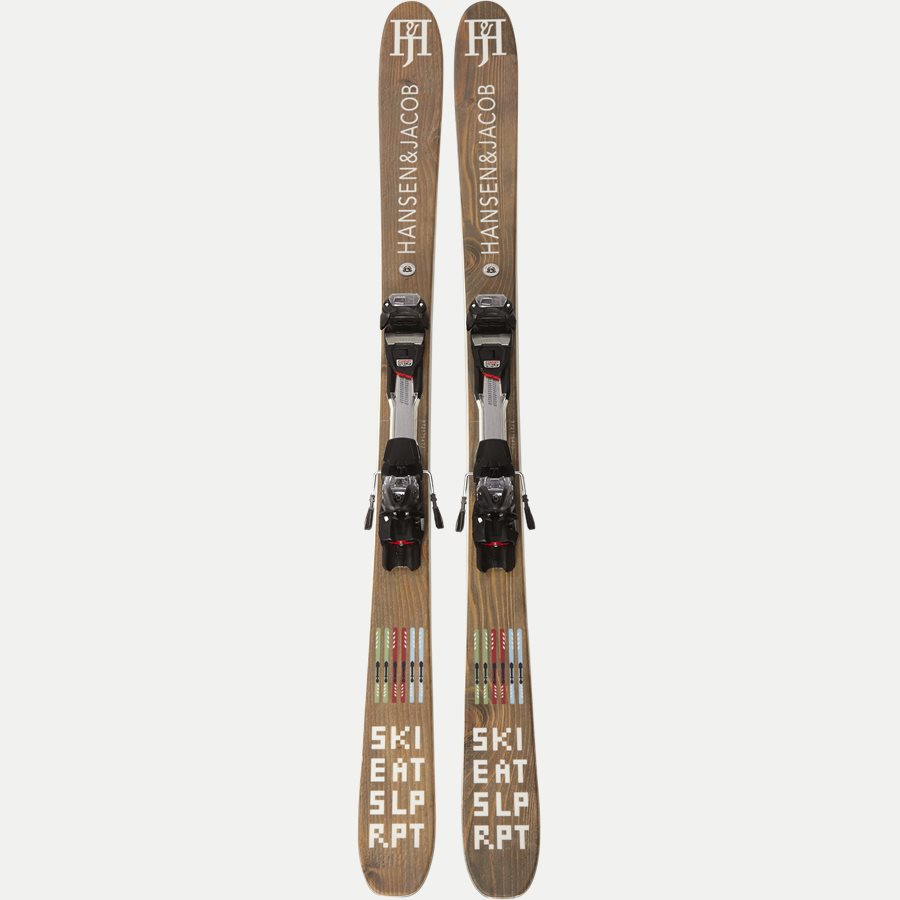 03933 BIRCH WOOD CORE SKI - Birch Wood Core Ski - Accessories - BRUN - 1
