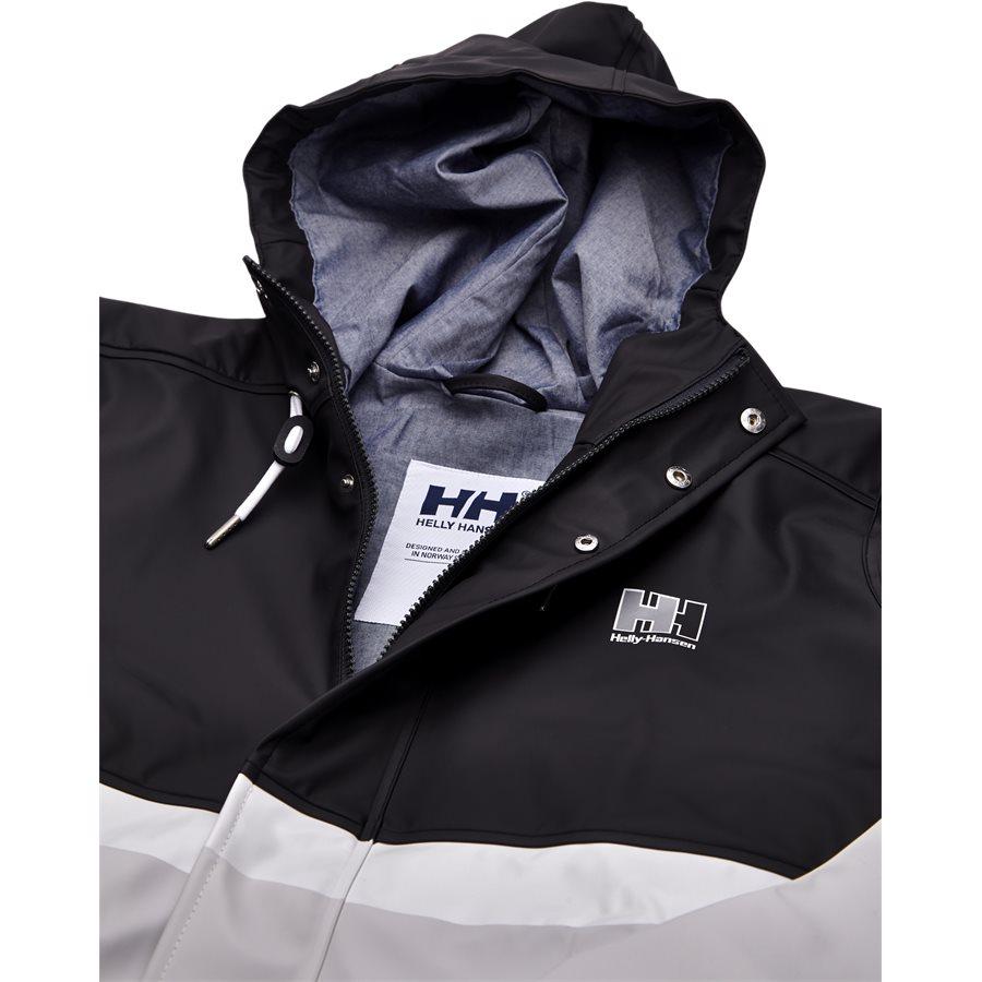 HH RAIN JACKET 53153 - HH Rain Jacket - Jakker - Regular - SORT - 3