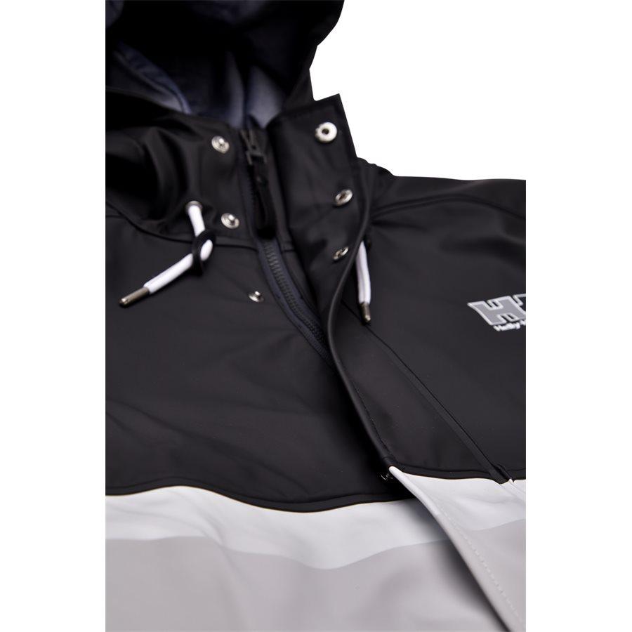 HH RAIN JACKET 53153 - HH Rain Jacket - Jakker - Regular - SORT - 5