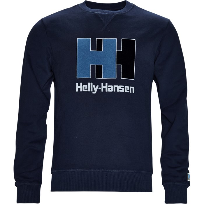 HH Crew Sweat - Sweatshirts - Regular - Blå