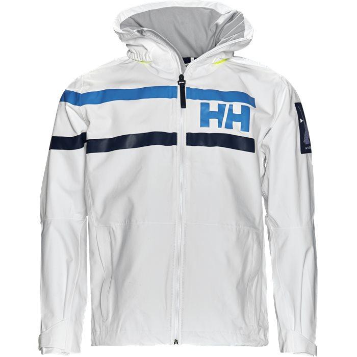HH Sailing Jacket - Jakker - Regular - Hvid