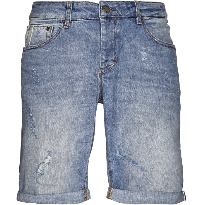 Jason 3/4 - Shorts - Regular - Denim