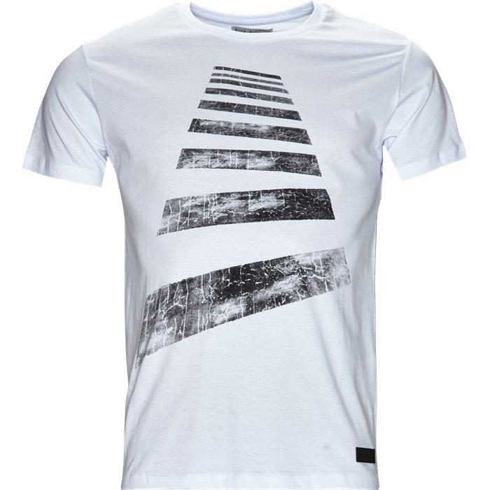 Sidewalk - T-shirts - Regular - Hvid