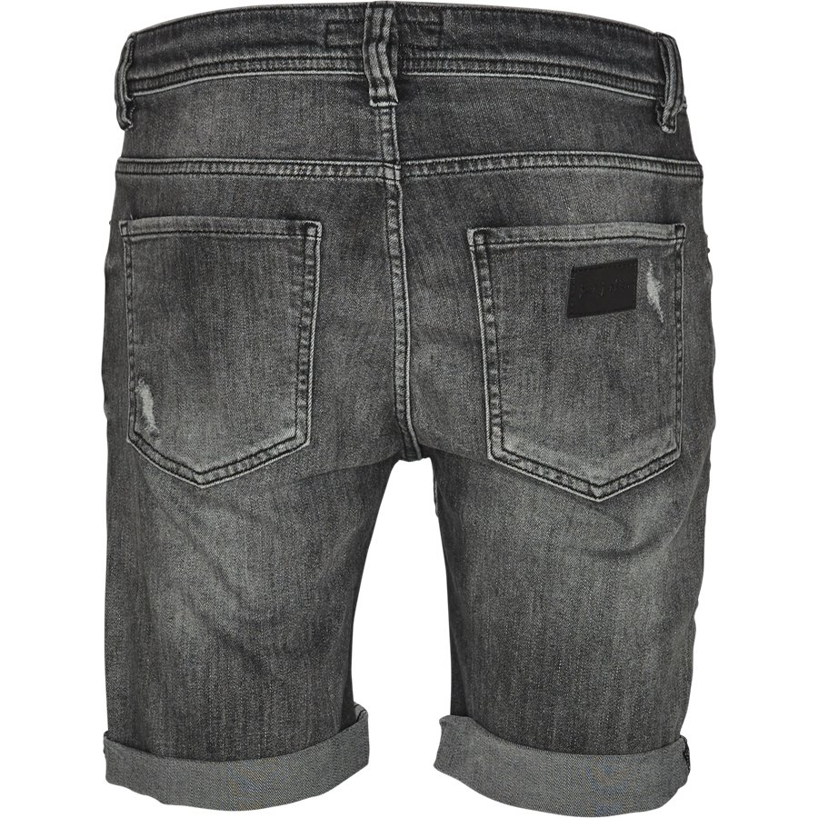 VINTAGE GREY MIKE SHORTS JJ654 - Vintage Grey Mike Shorts - Shorts - Regular - GRÅ - 2