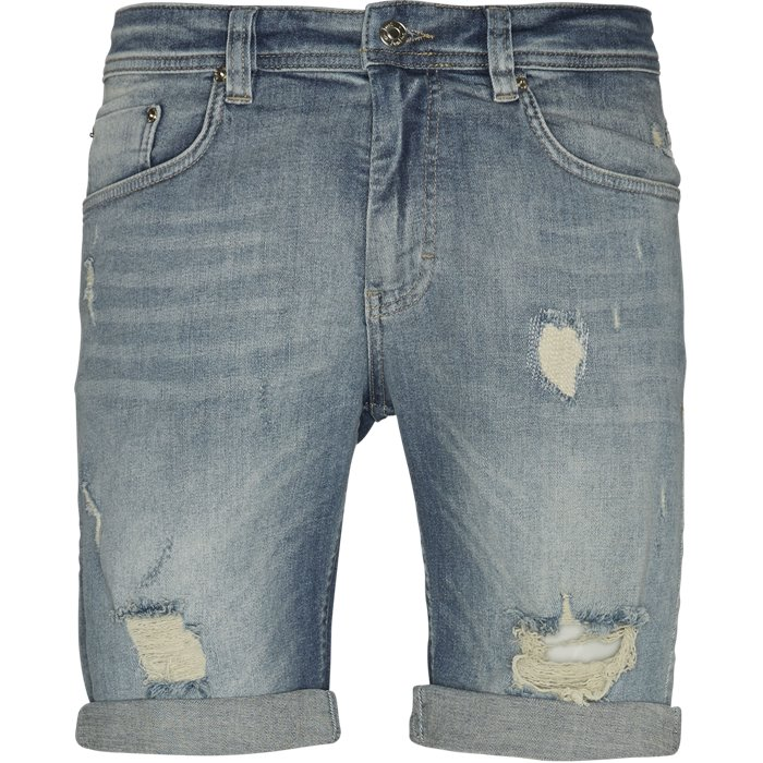 Super Blue Holes Shorts - Shorts - Regular - Denim