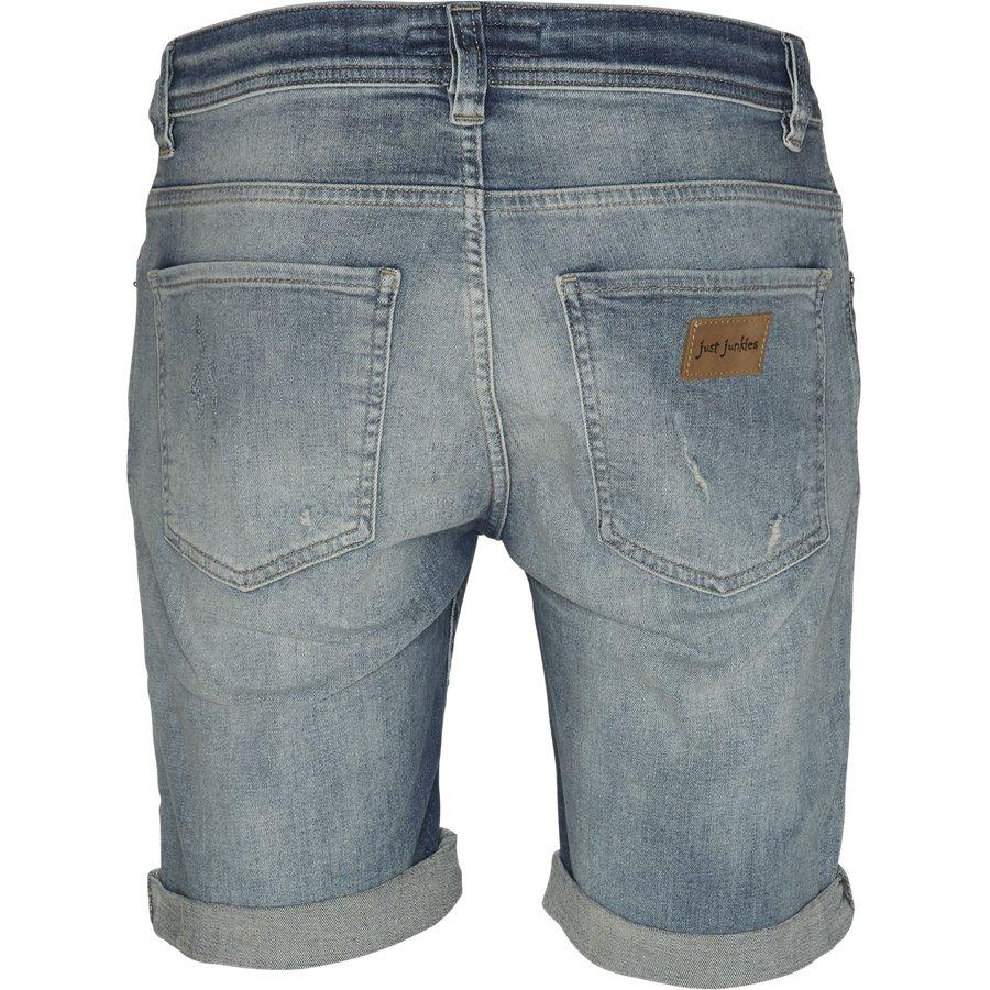 SUPER BLUE HOLES MIKE SHORTS JJ630 - Super Blue Holes Shorts - Shorts - Regular - DENIM - 2