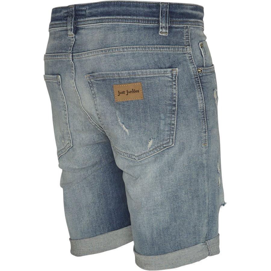 SUPER BLUE HOLES MIKE SHORTS JJ630 - Super Blue Holes Shorts - Shorts - Regular - DENIM - 3