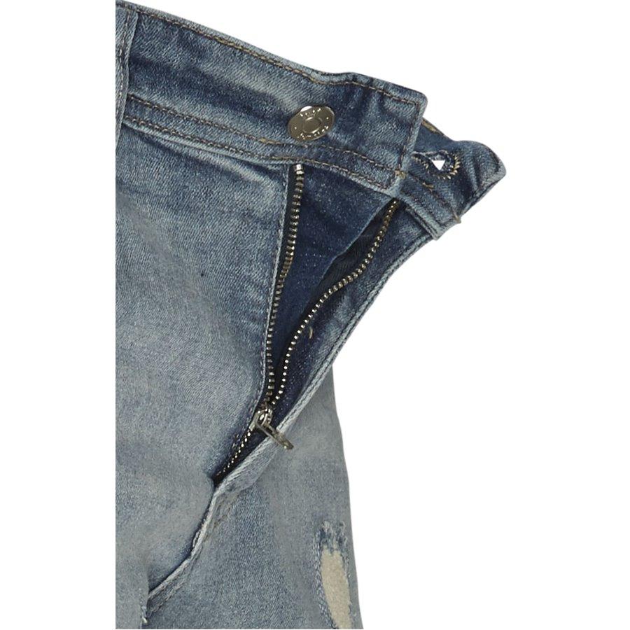 SUPER BLUE HOLES MIKE SHORTS JJ630 - Super Blue Holes Shorts - Shorts - Regular - DENIM - 4