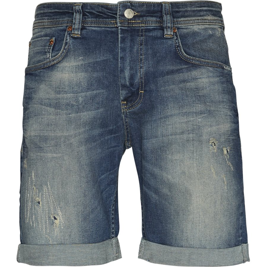 REAL BLUE MIKE SHORTS JJ644 - Real Blue Mike Shorts - Shorts - Regular - DENIM - 1