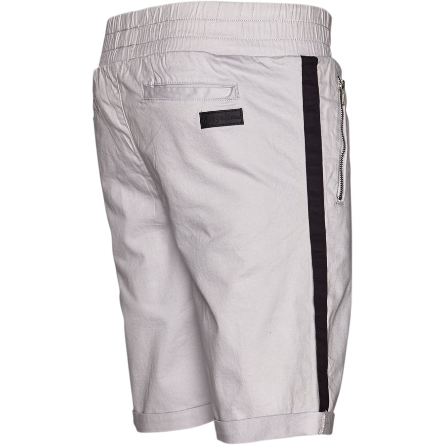 FLEX TUX SHORTS - FLEX TUX - Shorts - Regular fit - GRÅ/SORT - 4