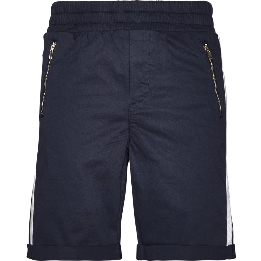 FLEX TUX SHORTS - FLEX TUX - Shorts - Regular fit - NAVY/HVID - 2